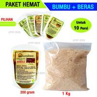 Paket Hemat Bumbu Nasi Arab + Beras Basmati