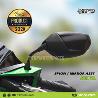 Spion Motor Delta Honda Yamaha TGP Beat FI Vario 125 150 PCX Variasi - yamaha, Tangkai Pendek