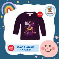 Kaos Anak Afrakids / Baju Anak / Atasan Anak Perempuan (AF242)