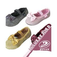 Dulux Bx 205 Size 25-30 Sepatu Flat Shoes Anak Perempuan