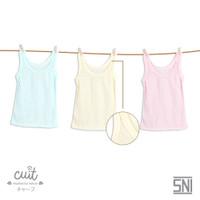 [CUIT] Kaos Dalam Anak Singlet Bayi - Paket 3 Warna
