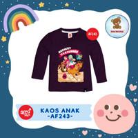Kaos Anak Afrakids / Baju Anak / Atasan Anak Perempuan (AF243)