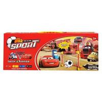 Mainan Olahraga Anak Bola Basket & Sepak Bola Cars Sport 2 In 1 Merah