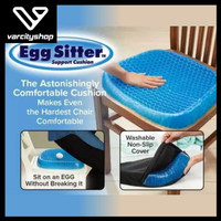 Alas Duduk Silikon Gel Kualitas Premium Egg sitter Bantalan Jok Kursi