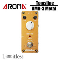 Efek Gitar Tomsline AMD3 ADM-3 Metal Distortion Pedal Aroma Original