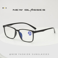 Kacamata Anti Radiasi Ultraviolet Proof Anti Blue-Ray Glasses - Black