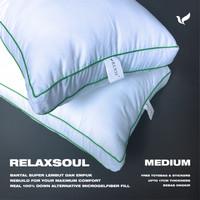Bantal Hotel Queen Medium Promo bulu angsa sintetis relaxsoul