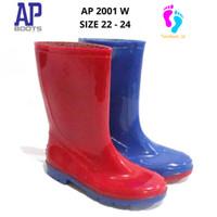 AP BOOTS ANAK TANGGUNG / AP 2001 WARNA / AP BOOTS ANAK SIZE 34 - 39