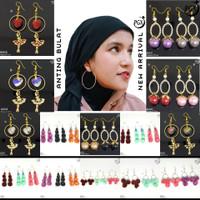 Anting Bulu Panjang Korea Nissa Sabyan Aksesoris Hijab Jilbab - A011