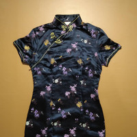 Dress Panjang Wanita Cheongsam Slimfit baju cina maxi sexy murah impor
