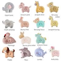 Bantal kepala kartun 3D bayi, Bantal tidur anti peyang bayi