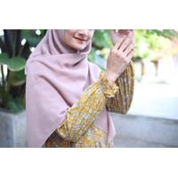 Terlaris Home Dress Khalina Fashion Kadena Mustard Size L Katun Rayon - L