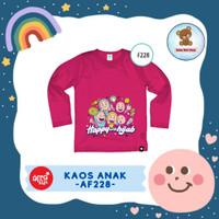 Kaos Anak Afrakids / Baju Anak / Atasan Anak Perempuan (AF228)