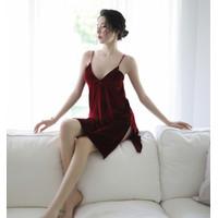 Sexy Lingerie Jumbo Baju Tidur Wanita Seksi Plus Size Lovata