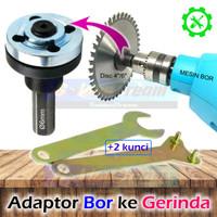Adaptor Bor ke Gerinda Converter Adapter Mesin Drill ke Mata Potong