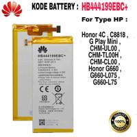Battre Battery Baterai Honor 4C G-Play Mini C8818 660-L75 HB444199EBC+