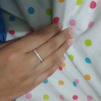 cincin emas putih 1gr