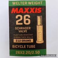 Ban Dalam Maxxis 26 x 2.20 - 2.50 Pentil Motor