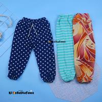 (Anak Perempuan) Jogger Motif Uk 1-10 Tahun/ Celana Panjang Anak Cewek