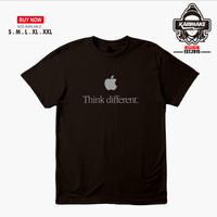 Kaos Baju Apple Think Different Kaos Gadget - Karimake