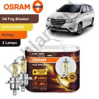 Lampu Mobil OSRAM FOG BREAKER INNOVA H4 FBR HALOGEN Kuning Gold