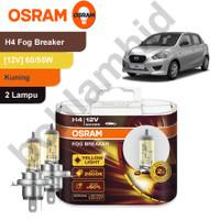 Lampu Mobil OSRAM FOG BREAKER DATSUN GO, GO+ H4 FBR Kuning Gold