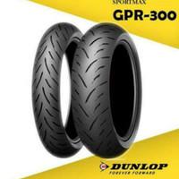 Ban Motor Dunlop Sportmax GPR-300 160/60R17 & 120/70-17 Radial Import