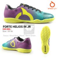 ORTUSEIGHT FORTE HELIOS IN JUNIOR ORIGINAL TERMURAH Sepatu Futsal Anak - Tosca Rhod Red, 35
