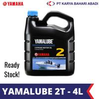 Yamalube 2 Stroke Motor Oil Outboard Motor Oli Motor Air [4 L]