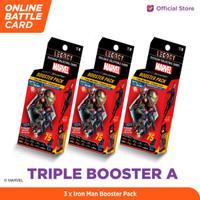 Marvel Triple Booster A - 5DX Legacy AR Battle Cards