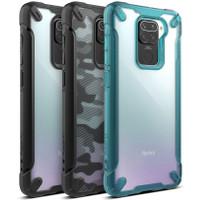 Ringke Fusion X Redmi Note 9 Soft Bumper Back Cover Hardcase