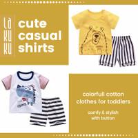 Setelan Baju Celana Anak / Bayi 1-2 tahun Perempuan dan Laki