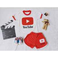 baju kaos setelan anak unisex usia 1-4 Tahun Youtube