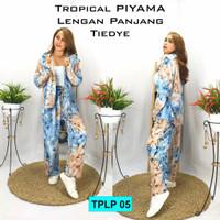 Tropical piyama /piyama tye dye /baju santai bali /baju pantai bali