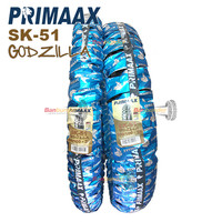 PAKET BAN PRIMAAX 100/100-18 DAN 80/100-21 SK51 GODZILLA TRAIL
