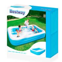 Bestway Rectangular Family Pool - kolam renang balon 2.01meters