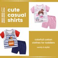 Setelan Baju Celana Anak / Bayi 1-2 tahun Perempuan / Laki