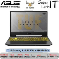 Asus TUF Gaming F15 FX506LH I765B8T-0 i7 10870H|GTX1650|15.6 FHD 144Hz