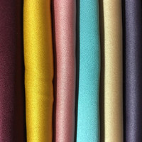 Bahan Kain Satin Silk   Velvet Lux   Grade A   per 0.5 meter