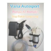 Pompa Air A1 Adaptor Selang 1 Meter DC 12V Mini Diaphragm Water Pump