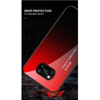 Pocophone X3 NFC Hardcase Gradient Back Cover Soft Bumper Case