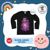 Kaos Anak Afrakids / Baju Anak / Atasan Anak Perempuan (AF224)