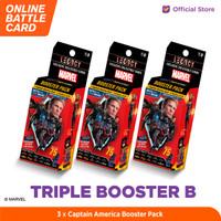 Marvel Triple Booster B - 5DX Legacy AR Battle Cards
