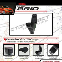 Console / Cunsule Box Arm Rest With Usb Charger Mobilio