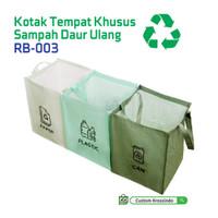 Kotak Tempat Sampah Daur Ulang / Recycled Bag RB-003