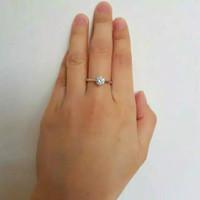 cincin emas putih 2gr
