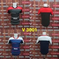 Baju Kaos Badminton Victor V 3001 Grade Ori Import Murah