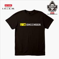 Kaos Baju Profesi Iam Engineer simple Kaos Profesi - Karimake