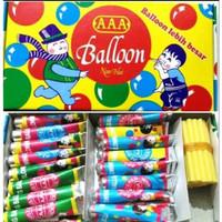 Balon AAA 1 Kotak Balon Tiup Mainan Anak Jaman Dulu Balloon Besar Sedo
