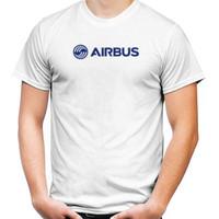 Baju Kaos T-Shirt Penerbangan Pesawat Airbus